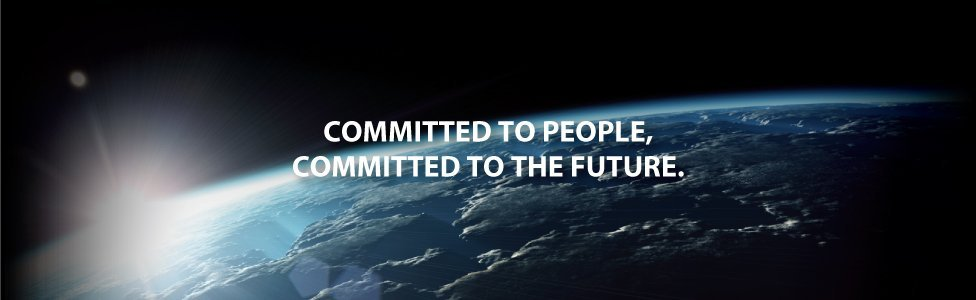 Toshiba Committed to people committed to the future